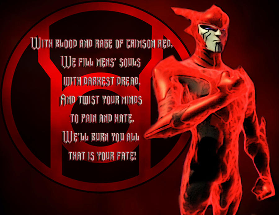 Bleez or rankor - Red Lantern Corps - Comic Vine Red Lantern Ring Oath