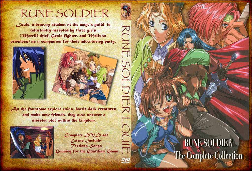 Rune Soldier Louie DVD cover by Kyukitsune