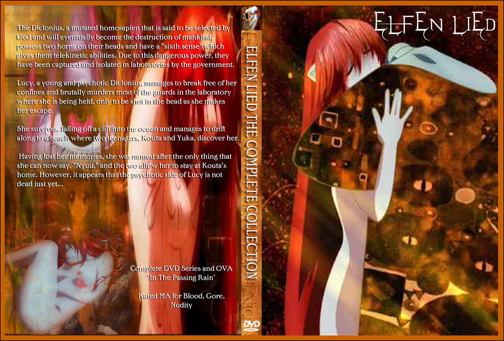 Elfen Lied Complete Collection DVD cover by Kyukitsune