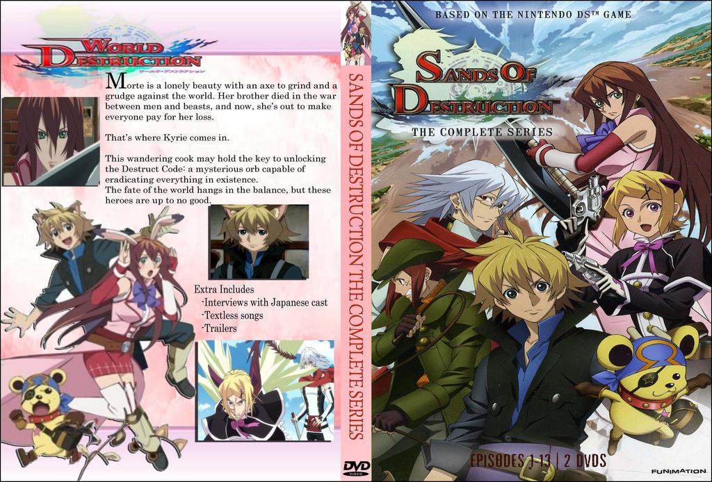 Sands of destruction dvd cover by Kyukitsune