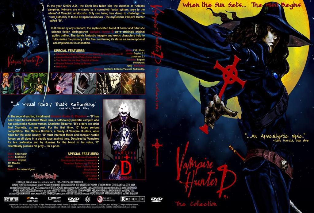 Vampire Hunter D DVD collection by Kyukitsune
