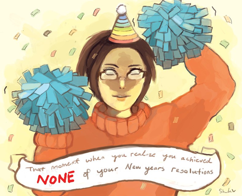 HAPPY LATE DAMN NEW YEARS EVERYONE by Chaho-Chi