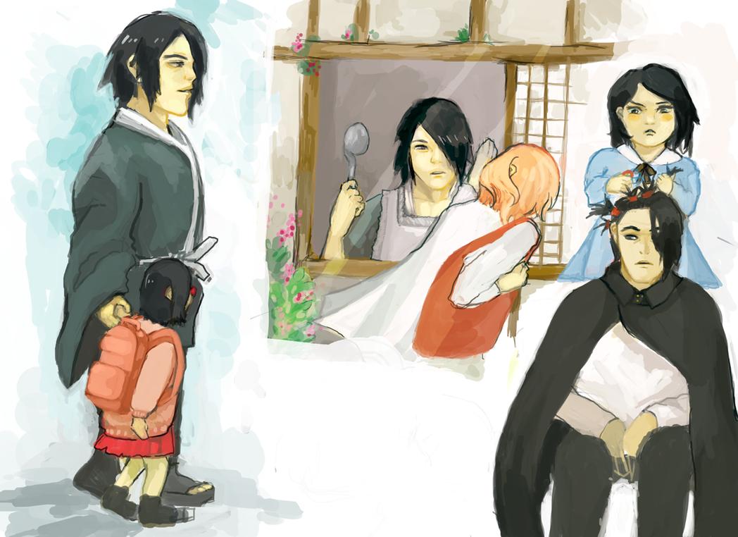 Sasukehsketches by Chaho-Chi