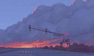 Kauai Sunset by HippyHoudini