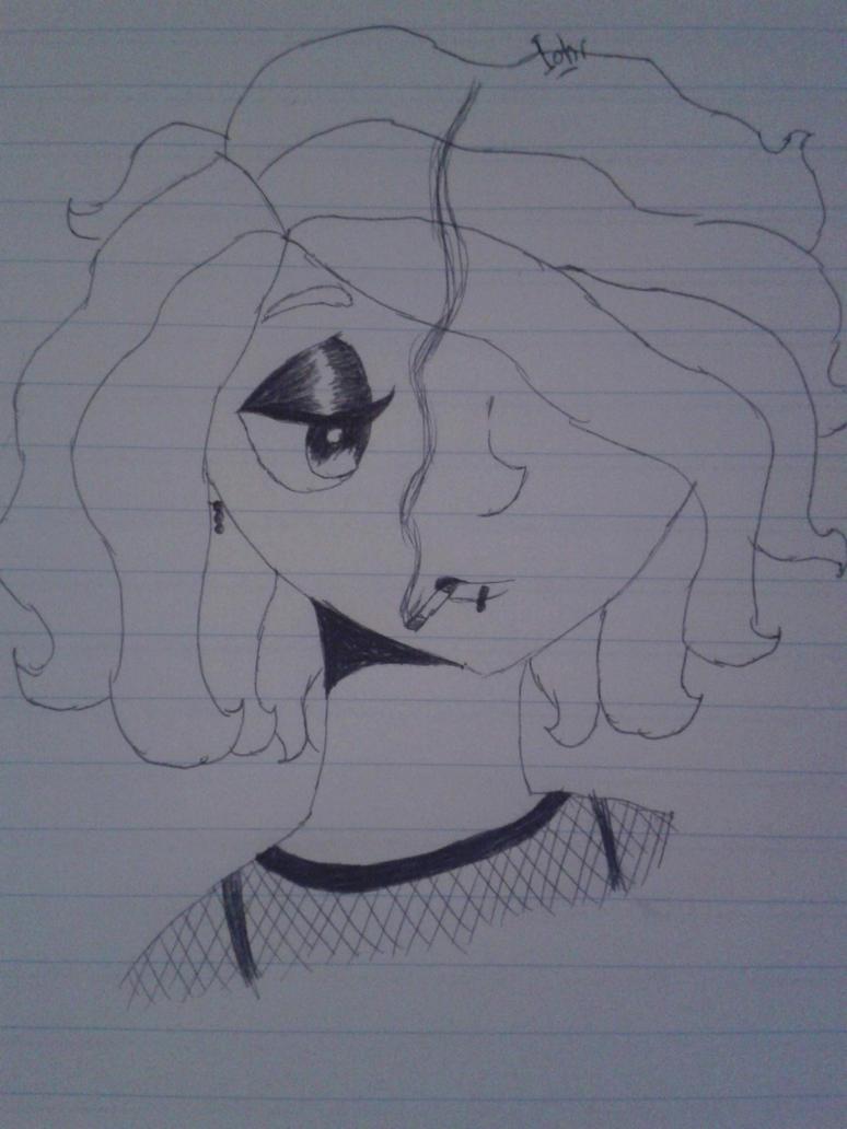 Miss Cigarette version #1 by Torcikk