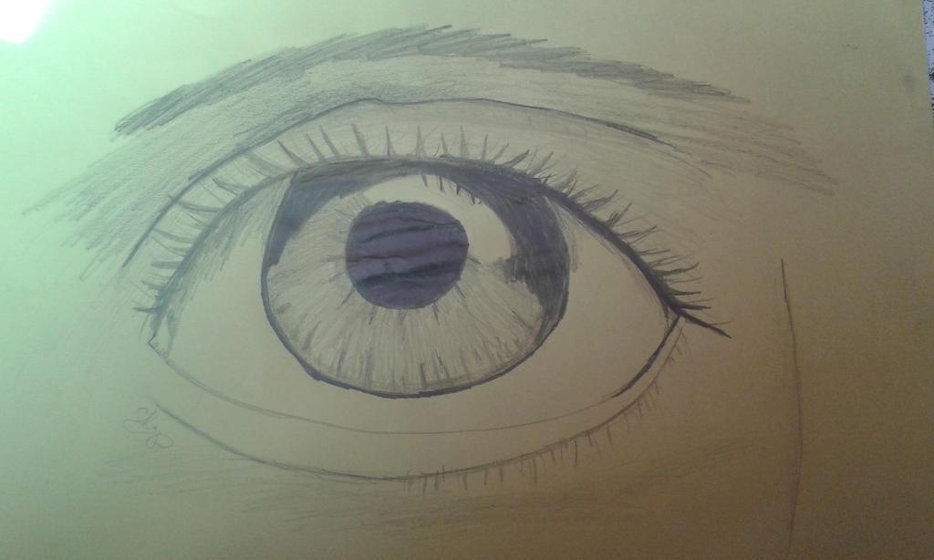 Eye ( first attempt ) by Torcikk