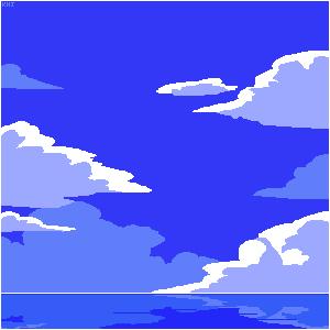 Cloud Lake by Kenj