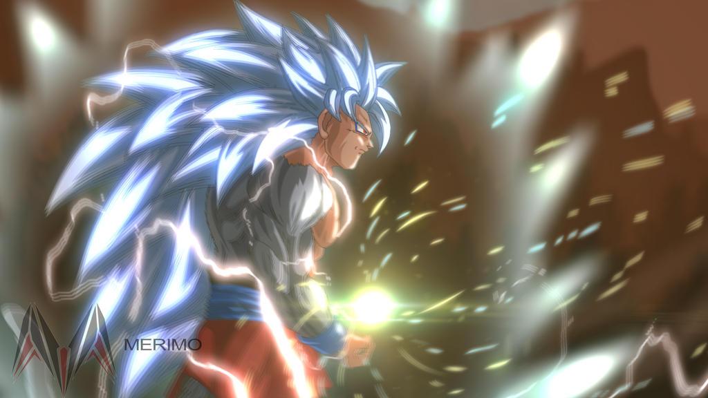 Goku Ssj5 by merimo-animation
