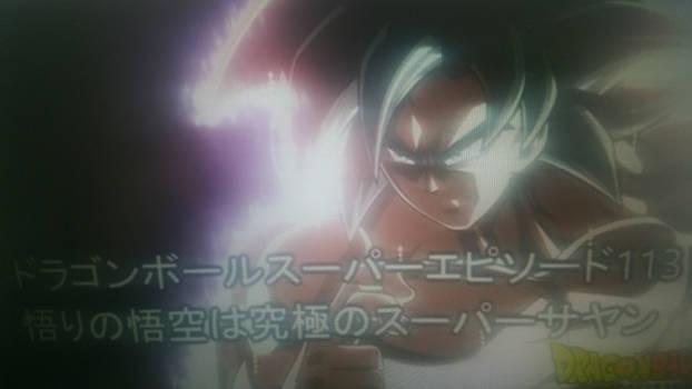 Goku new form LEAKED??