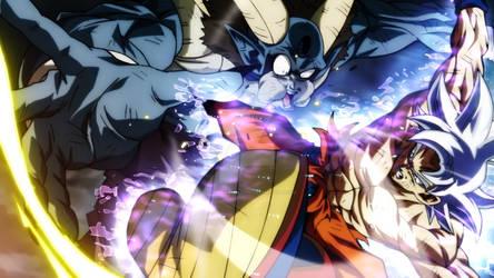 Goku destroys Moro