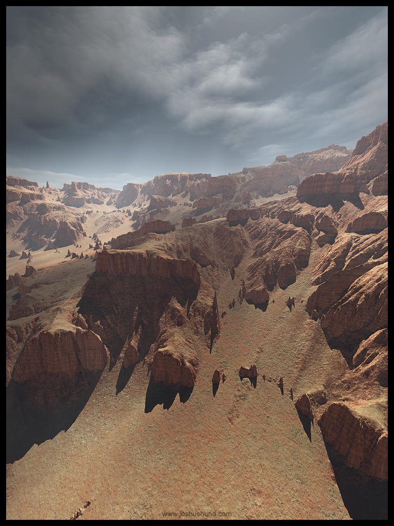 erosion study no.1 by joshushund
