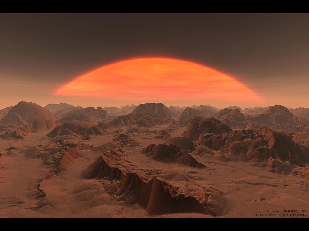 alien sunset wallpaper - photo #30