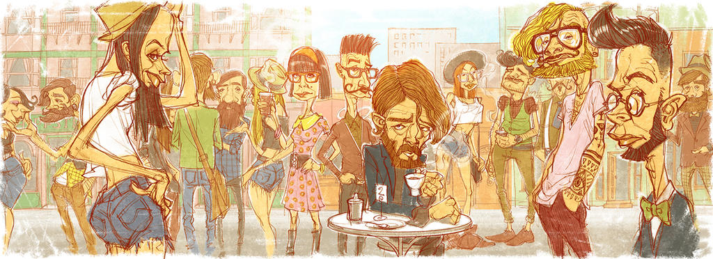 Hipsters by StraightEdge1977