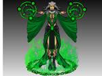 Emerald Sorceress