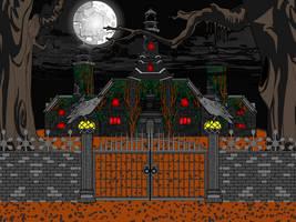 Haunted Castle by kellkin