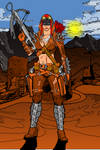 Post Apocalyptic Female Warroir