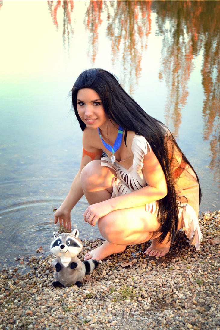 Pocahontas - Come to me meeko by K-i-R-a-R-a