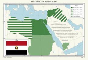 The United Arab Republic (1962) by Xotaed