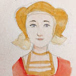 Anne of Cleves watercolor
