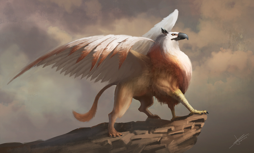 Royal Griffin by Go2frag