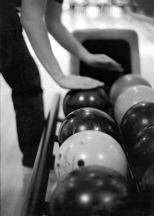 Bowling Balls by Paintmeblack