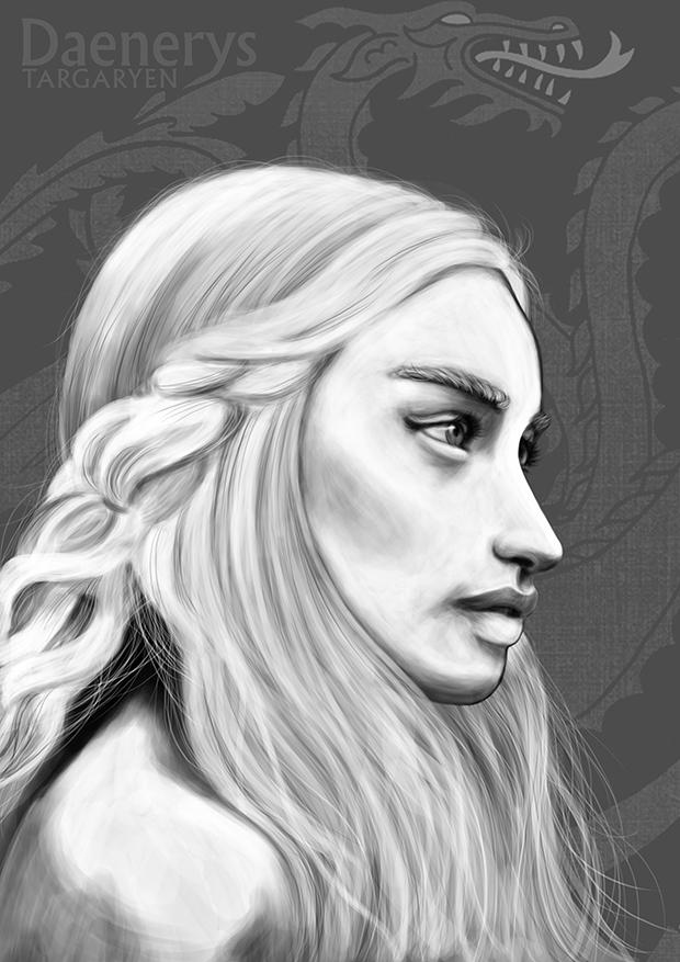 Daenerys Targaryen by HenkkaArt