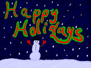 Happy Holidays 2016 (Team Night Saturn)