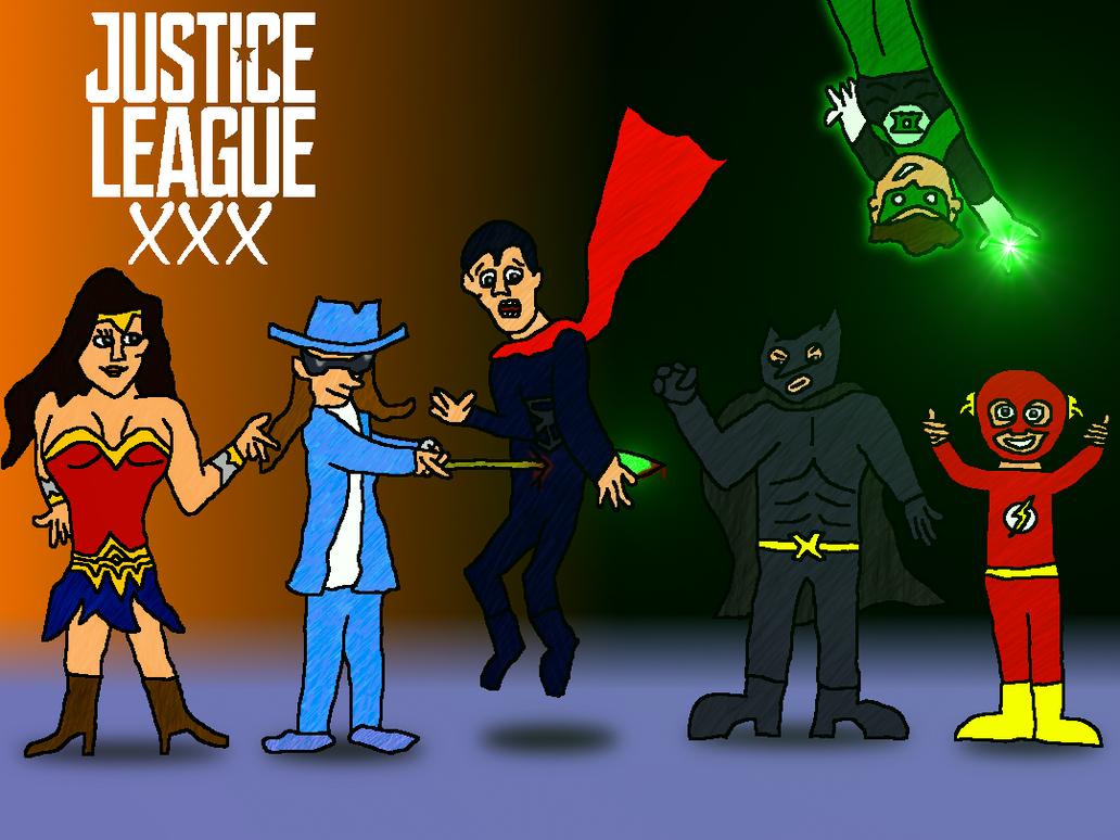 Nudie Rehab: Axel Braun's Justice League by jackhopeart