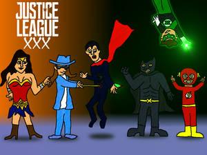Nudie Rehab: Axel Braun's Justice League
