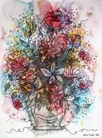 Flower Vase by anitadunkl