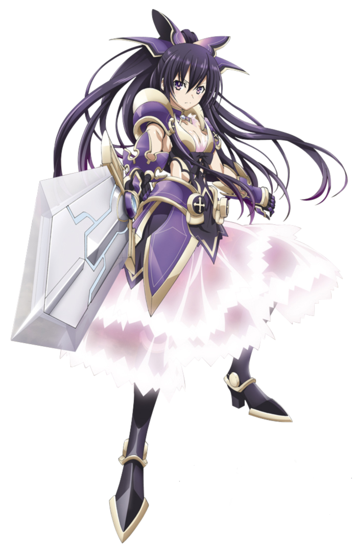 Date A Live Yatogami Tohka Png by bloomsama on DeviantArt
