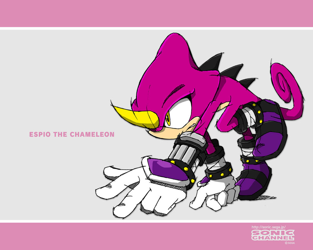 espio the chameleon wallpaper - photo #3