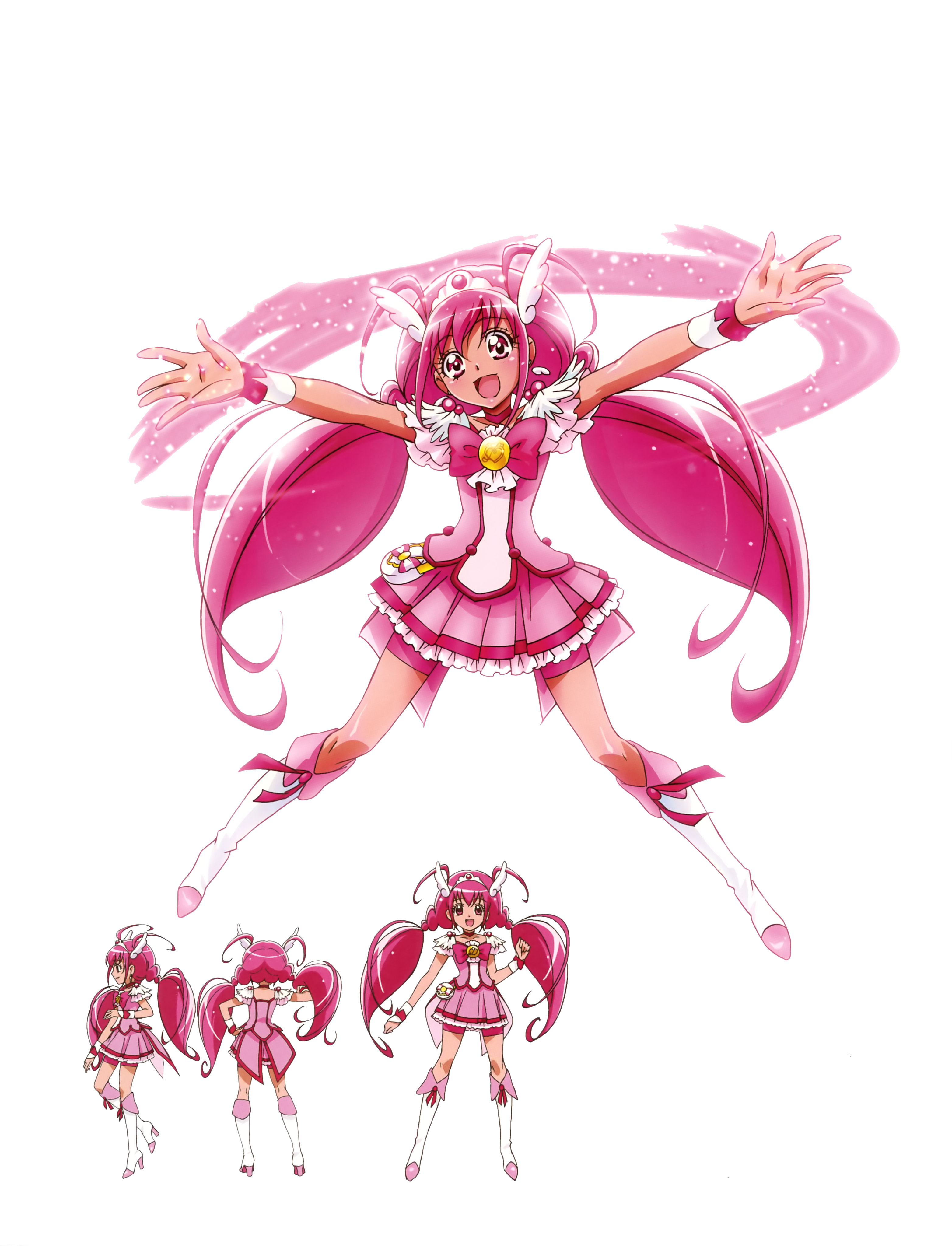 Smile Precure Characters Smile Precure Render By Bloomsama Dgftc