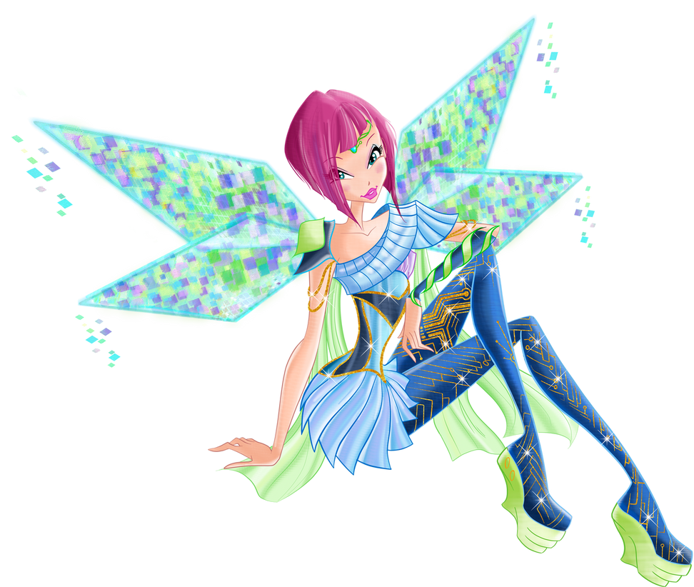 Tecna Bloomix Render by bloomsama