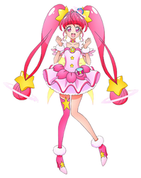 Cure Star Render by bloomsama