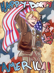 .:*Happy Bappy America*:. by SaraDere