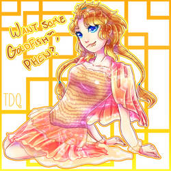 .:*Want Some Goldfish, Phen?*:. by SaraDere