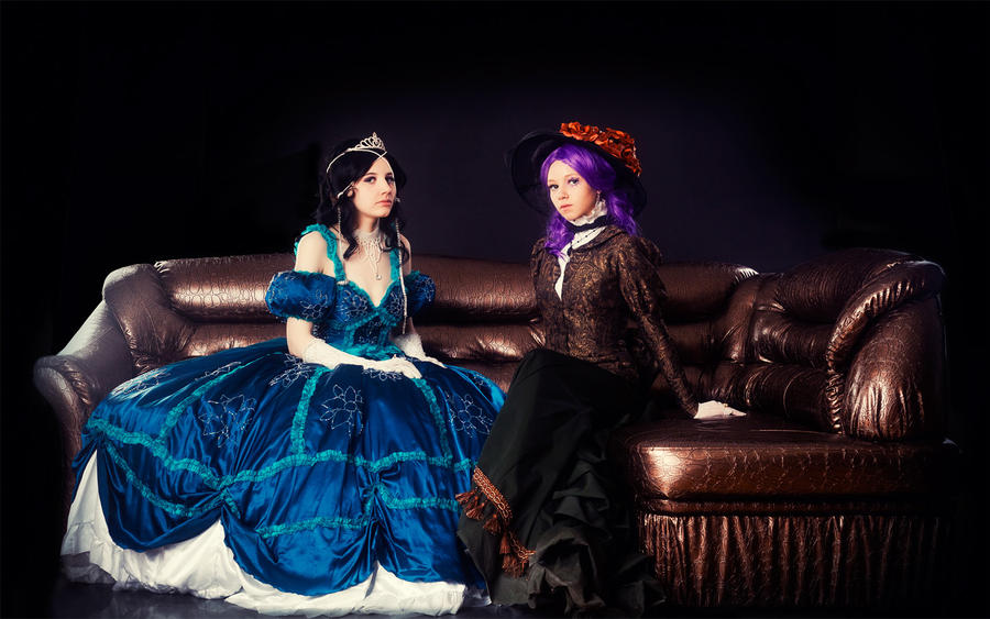 Yukari and Isabella by Haruhi-tyan
