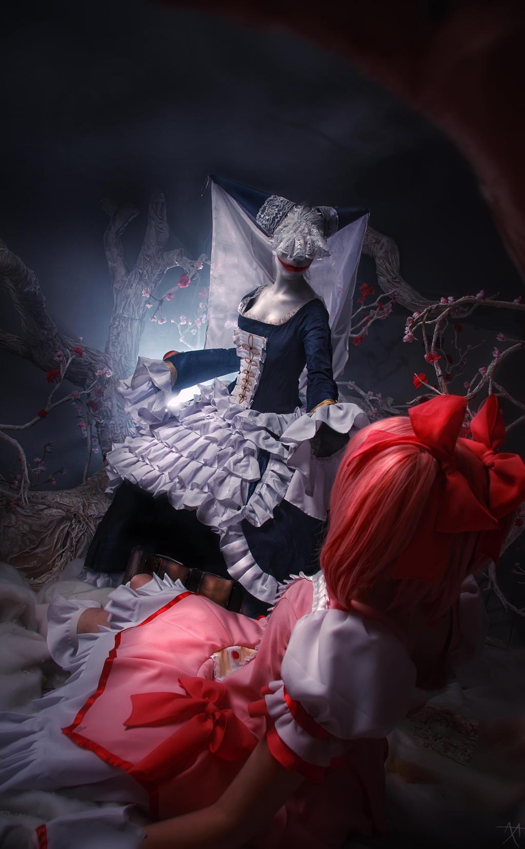 Madoka and Walpurgis Night by Haruhi-tyan