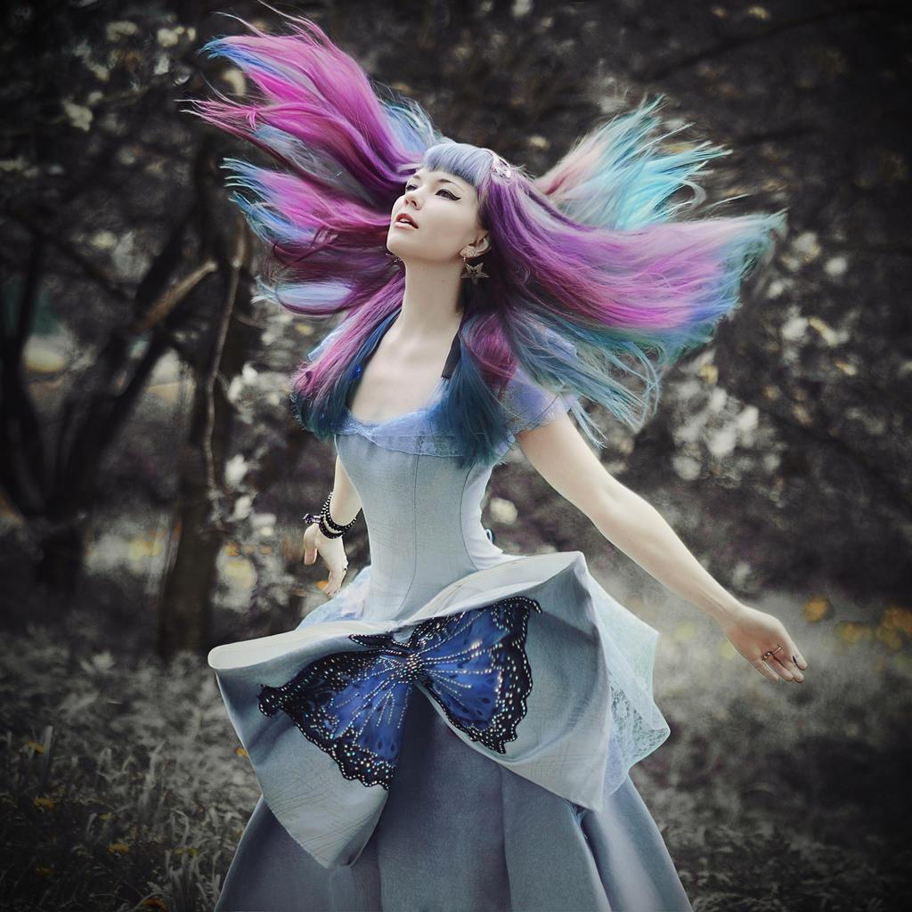 Die Prinzessin der Schmetterlinge by 13-Melissa-Salvatore