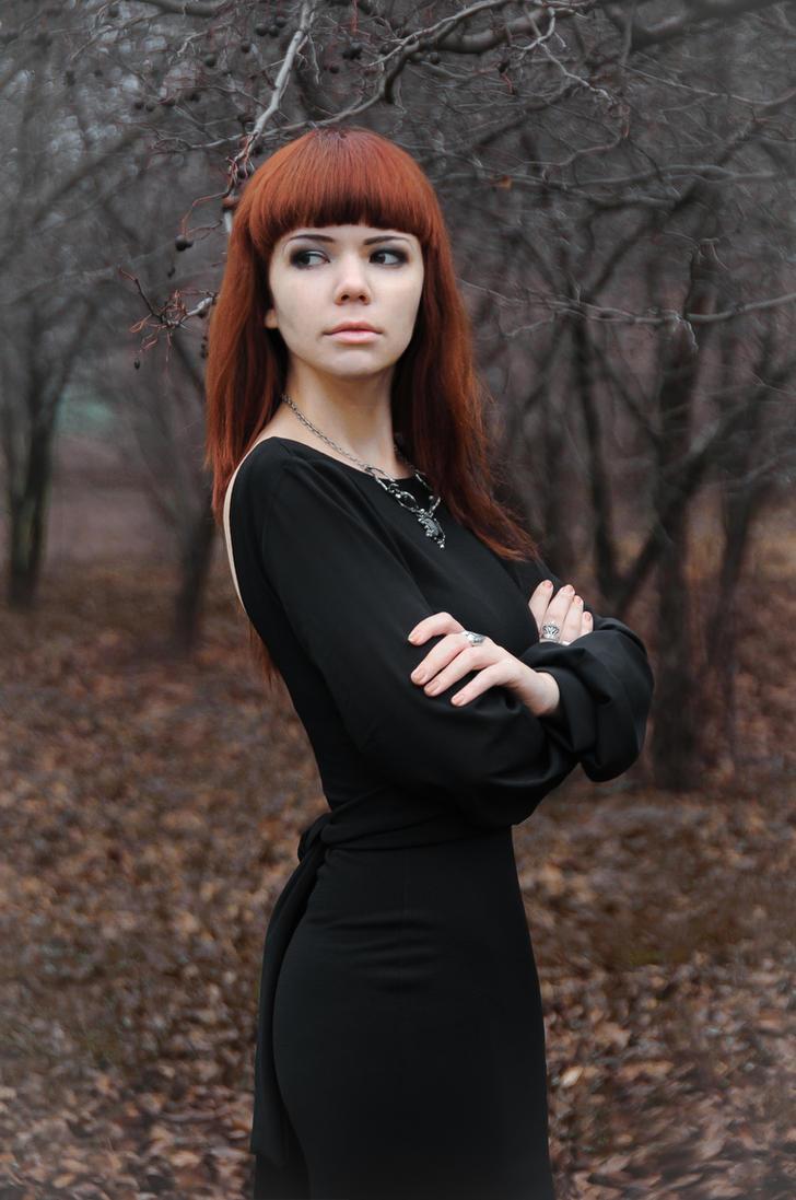 Morticia :)) by 13-Melissa-Salvatore