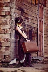 Steampunk Lady 3 by 13-Melissa-Salvatore
