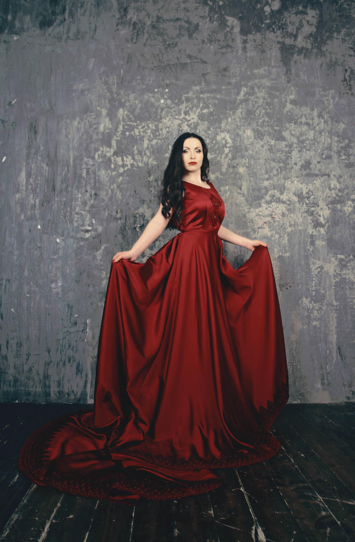 Lady in red by 13-Melissa-Salvatore