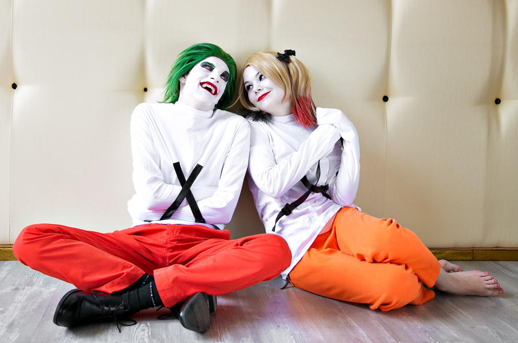 Harley Quinn and Joker by 13-Melissa-Salvatore