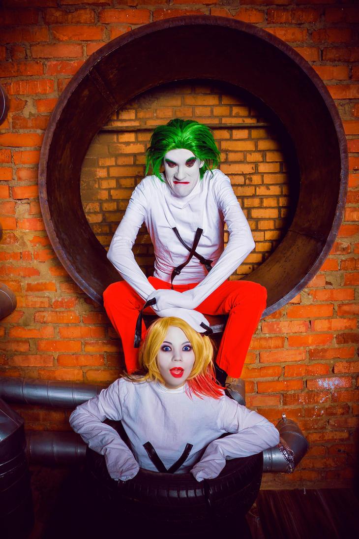 Harley Quinn and Joker by 13-Melissa-Salvatore