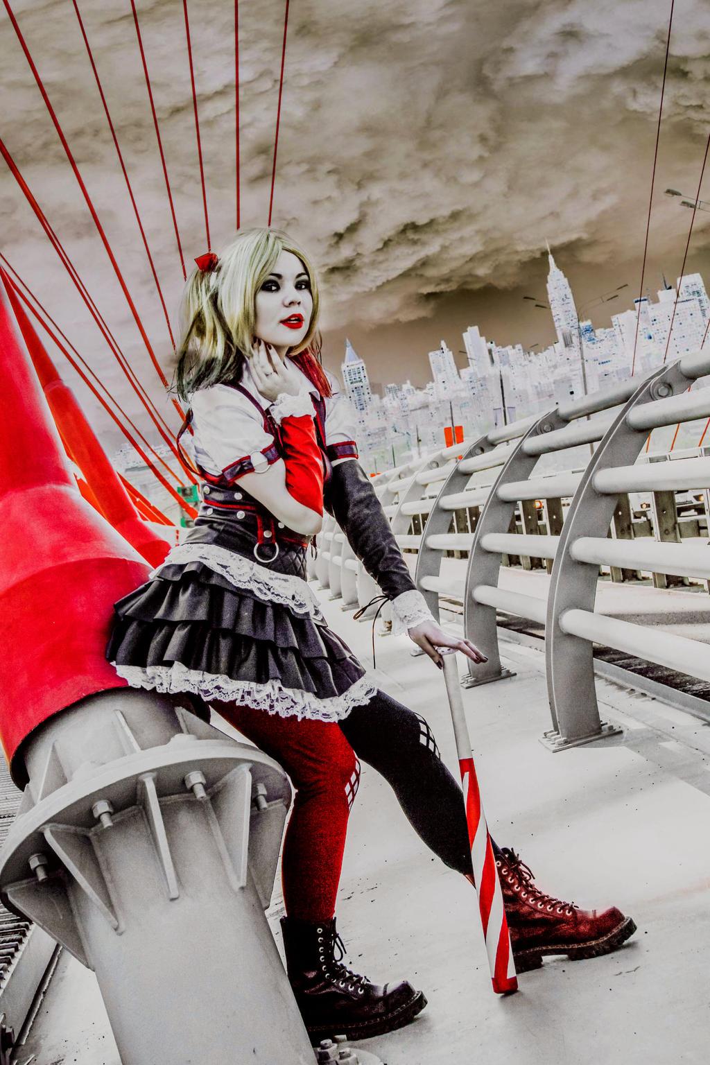 Harley Quinn Cosplay by 13-Melissa-Salvatore