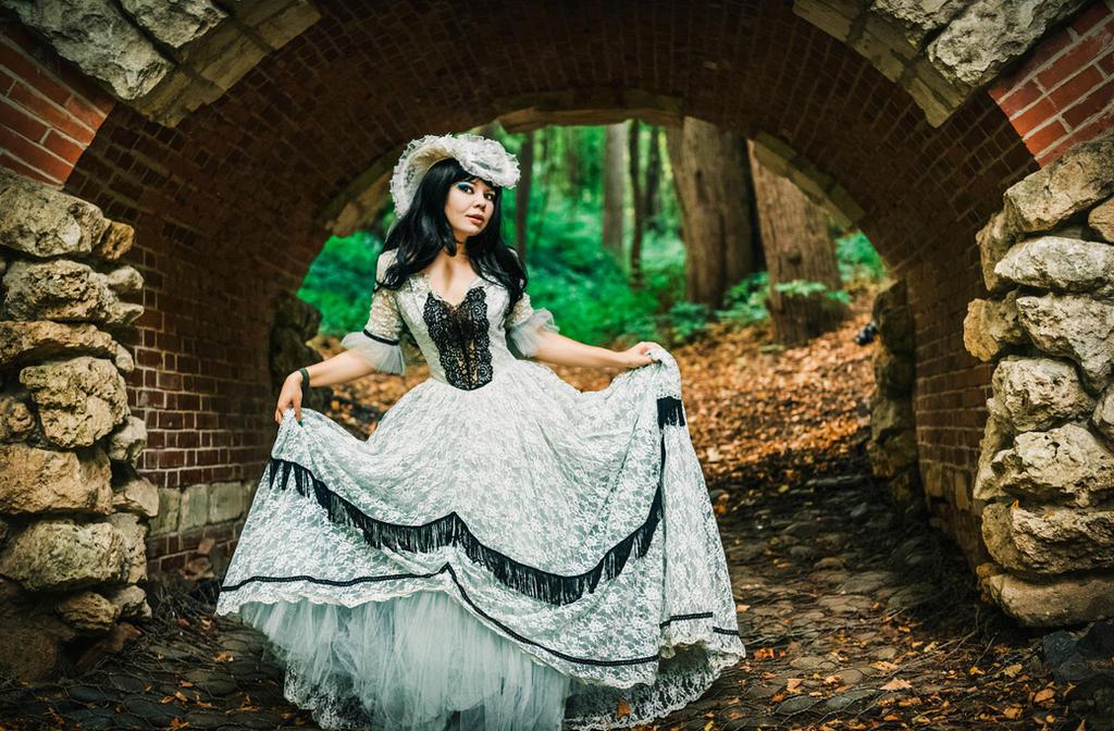 White Dress by 13-Melissa-Salvatore