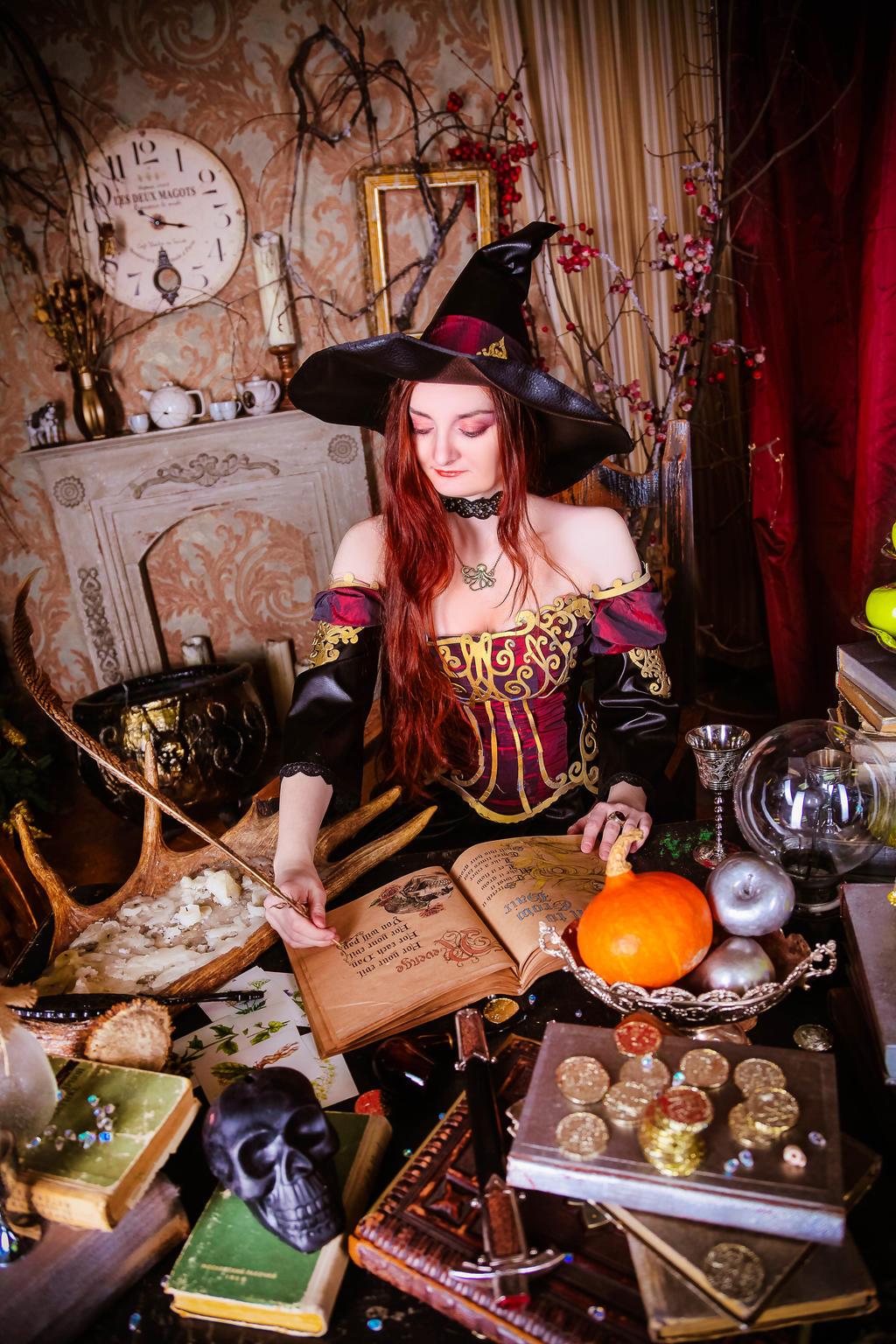 Witch by 13-Melissa-Salvatore