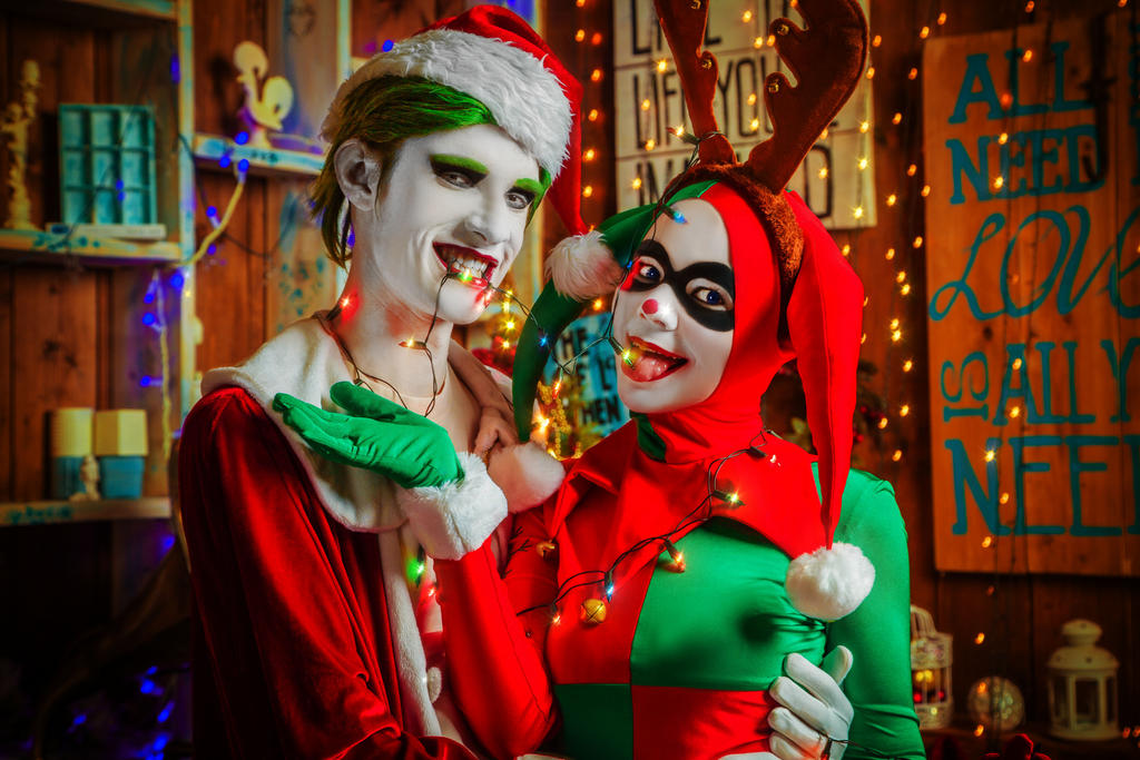 Joker and Harley by 13-Melissa-Salvatore