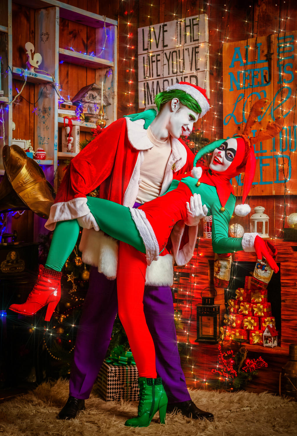 Joker and Harley by 13-Melissa-Salvatore